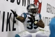 Oct 24, 2013; Tampa, FL, USA; Carolina Panthers fullback Mike Tolbert (35) reacts after he scored a touchdown during the second half against the Tampa Bay Buccaneers at Raymond James Stadium. Carolina Panthers defeated the Tampa Bay Buccaneers 31-13. Mandatory Credit: Kim Klement-USA TODAY Sports