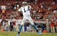 Oct 24, 2013; Tampa, FL, USA; Carolina Panthers quarterback Cam Newton (1) throws from out of the pocket against the Tampa Bay Buccaneers during the second half at Raymond James Stadium. Carolina Panthers defeated the Tampa Bay Buccaneers 31-13. Mandatory Credit: Kim Klement-USA TODAY Sports