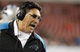 Oct 24, 2013; Tampa, FL, USA; Carolina Panthers head coach Ron Rivera reacts against the Tampa Bay Buccaneers during the second half at Raymond James Stadium. Carolina Panthers defeated the Tampa Bay Buccaneers 31-13. Mandatory Credit: Kim Klement-USA TODAY Sports
