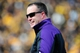 Oct 26, 2013; Iowa City, IA, USA; Northwestern Wildcats head coach Pat Fitzgerald looks on in the second quarter against the Iowa Hawkeyes at Kinnick Stadium. Mandatory Credit: Byron Hetzler-USA TODAY Sports