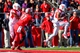 Oct 26, 2013; Piscataway, NJ, USA; Houston Cougars defensive back Adrian McDonald (16) intercepts a pass from Rutgers Scarlet Knights quarterback Gary Nova (10) during the second half at High Point Solutions Stadium. Mandatory Credit: Ed Mulholland-USA TODAY Sports