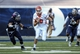 Oct 26, 2013; Houston, TX, USA; UTEP Miners quarterback Blaire Sullivan (10) runs the ball on a keeper during the third quarter against the Rice Owls at Rice Stadium. Mandatory Credit: Troy Taormina-USA TODAY Sports