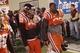 Oct 26, 2013; Blacksburg, VA, USA; Virginia Tech Hokies kicker Cody Journell (89) walks off the field after the game against the Duke Blue Devils at Lane Stadium. Mandatory Credit: Peter Casey-USA TODAY Sports