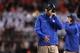 Oct 26, 2013; Blacksburg, VA, USA; Duke Blue Devils head coach David Cutcliffe on the sidelines during the game against the Virginia Tech Hokies at Lane Stadium. Mandatory Credit: Peter Casey-USA TODAY Sports