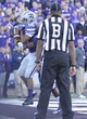 Oct 26, 2013; Manhattan, KS, USA; Kansas State Wildcats wide receiver Tyler Lockett (16) catches the ball for a touchdown against the West Virginia Mountaineers during the second half at Bill Snyder Family Stadium. The Wildcats defeat the Mountaineers 35-12. Mandatory Credit: Jasen Vinlove-USA TODAY Sports