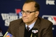 Oct 26, 2013; St. Louis, MO, USA; MLB executive Joe Torre addresses the media after game three of the MLB baseball World Series at Busch Stadium. Cardinals won 5-4. Mandatory Credit: Jeff Curry-USA TODAY Sports