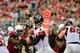 Oct 27, 2013; Phoenix, AZ, USA; Atlanta Falcons quarterback Matt Ryan (2) throws during the second half against the Arizona Cardinals at University of Phoenix Stadium. Mandatory Credit: Matt Kartozian-USA TODAY Sports