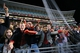 Oct 19, 2013; Oxford, MS, USA; Mississippi Rebels fans celebrate after the win against the LSU Tigers at Vaught-Hemingway Stadium. Mississippi Rebels defeat the LSU Tigers 27-24.  Mandatory Credit: Spruce Derden-USA TODAY Sports
