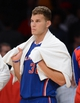 Oct 29, 2013; Los Angeles, CA, USA;  Los Angeles Clippers power forward Blake Griffin (32) reacts watching game action during the second half against the Los Angeles Lakers at Staples Center. Lakers won 116-103. Mandatory Credit: Jayne Kamin-Oncea-USA TODAY Sports
