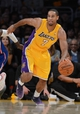 Oct 29, 2013; Los Angeles, CA, USA;  Los Angeles Lakers shooting guard Xavier Henry (7) in the second half of the game against the Los Angeles Clippers at Staples Center. Lakers won 116-103. Mandatory Credit: Jayne Kamin-Oncea-USA TODAY Sports