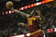 Oct 30, 2013; Cleveland, OH, USA; Cleveland Cavaliers small forward Anthony Bennett (15) grabs a rebound in the third quarter against the Brooklyn Nets at Quicken Loans Arena. Mandatory Credit: David Richard-USA TODAY Sports
