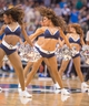 Oct 25, 2013; Dallas, TX, USA; The Dallas Mavericks dancers perform during the game between the Mavericks and the Indiana Pacers at the American Airlines Center. The Pacers defeated the Mavericks 98-77. Mandatory Credit: Jerome Miron-USA TODAY Sports