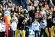 Oct 26, 2013; Iowa City, IA, USA; Iowa Hawkeyes quarterback Jake Rudock (15) passes during the second half against the Nothwestern Wildcats at Kinnick Stadium. Mandatory Credit: Byron Hetzler-USA TODAY Sports