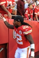 Oct 27, 2013; Kansas City, MO, USA; Kansas City Chiefs wide receiver Dexter McCluster (22) leaves the field after the game against the Cleveland Browns at Arrowhead Stadium. The Chiefs won 23-17.  Mandatory Credit: Denny Medley-USA TODAY Sports