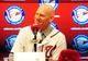 Nov 1, 2013; Washington, DC, USA; Washington Nationals manager Matt Williams talks to the media during the press conference at Nationals Park. Mandatory Credit: Evan Habeeb-USA TODAY Sports