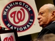 Nov 1, 2013; Washington, DC, USA; Washington Nationals owner Ted Lerner looks on during the press conference at Nationals Park. Mandatory Credit: Evan Habeeb-USA TODAY Sports