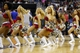 Nov 1, 2013; Washington, DC, USA; Washington Wizards Girls dance on the court during a stoppage in play against the Philadelphia 76ers at Verizon Center. The 76ers won 109-102. Mandatory Credit: Geoff Burke-USA TODAY Sports