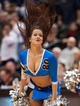 Nov 1, 2013; Minneapolis, MN, USA; Minnesota Timberwolves cheerleader entertains fans in the fourth quarter against the Oklahoma City Thunder at Target Center. Timberwolves won 100-81. Mandatory Credit: Greg Smith-USA TODAY Sports