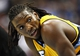 Nov 1, 2013; Denver, CO, USA; Denver Nuggets small forward Kenneth Faried (35) in the third quarter against the Portland Trail Blazers at the Pepsi Center. The Trail Blazers won 113-98. Mandatory Credit: Isaiah J. Downing-USA TODAY Sports