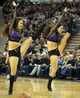 Nov 1, 2013; Sacramento, CA, USA; Sacramento Kings dancers perform during a timeout against the Los Angeles Clippers during the fourth quarter at Sleep Train Arena. The Los Angeles Clippers defeated the Sacramento Kings 110-101. Mandatory Credit: Kelley L Cox-USA TODAY Sports