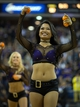 Nov 1, 2013; Sacramento, CA, USA; Sacramento Kings dancers hand out miniature basketball during the fourth quarter Los Angeles Clippers at Sleep Train Arena. The Los Angeles Clippers defeated the Sacramento Kings 110-101. Mandatory Credit: Kelley L Cox-USA TODAY Sports