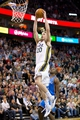 Oct 30, 2013; Salt Lake City, UT, USA; Utah Jazz small forward Gordon Hayward (20) goes up for a dunk during the second half against the Oklahoma City Thunder at EnergySolutions Arena. Oklahoma City won 101-98. Mandatory Credit: Russ Isabella-USA TODAY Sports
