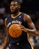 Oct 25, 2013; Orlando, FL, USA; New Orleans Pelicans point guard Tyreke Evans (1) against the Orlando Magic during the second half at Amway Center. New Orleans Pelicans defeated the Orlando Magic 101-82.  Mandatory Credit: Kim Klement-USA TODAY Sports