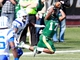 Nov 2, 2013; Birmingham, AL, USA;  UAB Blazers cornerback Jordan Petty (17) intercepts the ball against Middle Tennessee State Blue Raiders at Legion Field. Mandatory Credit: Marvin Gentry-USA TODAY Sports