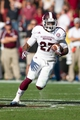 Nov 2, 2013; Columbia, SC, USA; Mississippi State Bulldogs running back LaDarius Perkins (27) runs the ball during the fourth quarter against the South Carolina Gamecocks  at Williams-Brice Stadium. The Gamecocks defeated the Bulldogs 34-16.  Mandatory Credit: Jeremy Brevard-USA TODAY Sports