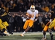 Nov 2, 2013; Columbia, MO, USA; Tennessee Volunteers quarterback Joshua Dobbs (11) runs the ball during the second half of the game against the Missouri Tigers at Faurot Field. Missouri won 31-3. Mandatory Credit: Denny Medley-USA TODAY Sports
