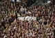 Nov 2, 2013; Tallahassee, FL, USA; Florida State Seminoles fans hold up a heisman sign referring to quarterback Jameis Winston (5) (not pictured) during the game against the Miami Hurricanes at Doak Campbell Stadium. Mandatory Credit: Melina Vastola-USA TODAY Sports