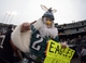 Nov 3, 2013; Oakland, CA, USA; Philadelphia Eagles fan Todd Schlemmer attends the game against the Oakland Raiders at O.co Coliseum. The Eagles defeated the Raiders 49-20. Mandatory Credit: Kirby Lee-USA TODAY Sports