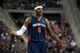 Nov 3, 2013; Auburn Hills, MI, USA; Detroit Pistons small forward Josh Smith (6) reacts to a call during the third quarter against the Boston Celtics at The Palace of Auburn Hills. Detroit won 87-77. Mandatory Credit: Tim Fuller-USA TODAY Sports
