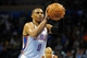 Nov 3, 2013; Oklahoma City, OK, USA; Oklahoma City Thunder point guard Russell Westbrook (0) attempts a shot against the Phoenix Suns during the fourth quarter at Chesapeake Energy Arena. Mandatory Credit: Mark D. Smith-USA TODAY Sports