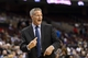 Nov 4, 2013; Philadelphia, PA, USA; Philadelphia 76ers head coach Brett Brown during the fourth quarter against the Golden State Warriors at Wells Fargo Center. The Warriors defeated the Sixers 110-90. Mandatory Credit: Howard Smith-USA TODAY Sports