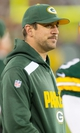 Nov 4, 2013; Green Bay, WI, USA; Green Bay Packers quarterback Aaron Rodgers looks on from the sideline during the third quarter against the Chicago Bears at Lambeau Field. Chicago won 27-20.  Mandatory Credit: Jeff Hanisch-USA TODAY Sports