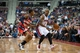 Oct 30, 2013; Auburn Hills, MI, USA; Washington Wizards shooting guard Bradley Beal (3) guards Detroit Pistons point guard Chauncey Billups (1) during the fourth quarter at The Palace of Auburn Hills. Pistons won 113-102. Mandatory Credit: Tim Fuller-USA TODAY Sports