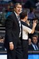 Oct 22, 2013; Auburn Hills, MI, USA; Washington Wizards head coach Randy Wittman during the fourth quarter against the Detroit Pistons at The Palace of Auburn Hills. Pistons won 99-96. Mandatory Credit: Tim Fuller-USA TODAY Sports