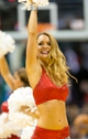 Nov 2, 2013; Milwaukee, WI, USA; A Milwaukee Bucks dancer performs during the game against the Toronto Raptors at BMO Harris Bradley Center. Toronto won 97-90.  Mandatory Credit: Jeff Hanisch-USA TODAY Sports