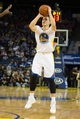 Nov 2, 2013; Oakland, CA, USA; Golden State Warriors point guard Nemanja Nedovic (8) shoots the ball against the Sacramento Kings during the fourth quarter at Oracle Arena. The Golden State Warriors defeated the Sacramento Kings 98-87. Mandatory Credit: Kelley L Cox-USA TODAY Sports