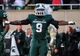 Nov 2, 2013; East Lansing, MI, USA; Michigan State Spartans safety Isaiah Lewis (9) reacts to play during the 2nd half of a game against the Michigan Wolverines at Spartan Stadium. MSU won 29-6. Mandatory Credit: Mike Carter-USA TODAY Sports