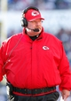 Nov 3, 2013; Orchard Park, NY, USA; Kansas City Chiefs head coach Andy Reid during the game against the Buffalo Bills at Ralph Wilson Stadium. Mandatory Credit: Kevin Hoffman-USA TODAY Sports