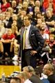Nov 5, 2013; Portland, OR, USA; Portland Trail Blazers head coach Terry Stotts looks on against the Houston Rockets at the Moda Center. Mandatory Credit: Craig Mitchelldyer-USA TODAY Sports