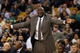 Nov 6, 2013; Boston, MA, USA; Utah Jazz head coach Tyrone Corbin watches from the sideline as they take on the Boston Celtics in the first quarter at TD Garden. Mandatory Credit: David Butler II-USA TODAY Sports