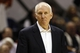Nov 6, 2013; San Antonio, TX, USA; San Antonio Spurs head coach Gregg Popovich watches from the sideline during the first half against the Phoenix Suns at AT&T Center. Mandatory Credit: Soobum Im-USA TODAY Sports