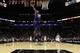 Nov 6, 2013; San Antonio, TX, USA; Phoenix Suns guard Eric Bledsoe (2) dunks during the first half against the San Antonio Spurs at AT&T Center. Mandatory Credit: Soobum Im-USA TODAY Sports