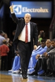 Nov 6, 2013; Charlotte, NC, USA; Charlotte Bobcats head coach Steve Clifford during the game against the Toronto Raptors at Time Warner Cable Arena. Bobcats win 92-90. Mandatory Credit: Sam Sharpe-USA TODAY Sports