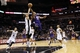 Nov 6, 2013; San Antonio, TX, USA; Phoenix Suns  forward P.J Tucker (right) drives to the basket under pressure from San Antonio Spurs forward Marco Belinelli (left) during the second half at AT&T Center. The Spurs won 99-96. Mandatory Credit: Soobum Im-USA TODAY Sports