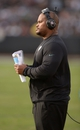 Nov 3, 2013; Oakland, CA, USA; Philadelphia Eagles running backs coach Duce Staley during the game against the Oakland Raiders at O.co Coliseum. The Eagles defeated the Raiders 49-20. Mandatory Credit: Kirby Lee-USA TODAY Sports