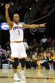 Nov 4, 2013; Cleveland, OH, USA; Cleveland Cavaliers point guard Jarrett Jack (1) during a game against the Minnesota Timberwolves at Quicken Loans Arena. Cleveland won 93-92. Mandatory Credit: David Richard-USA TODAY Sports